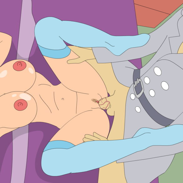 Agent Penny's Big Tits and Tight Pussy